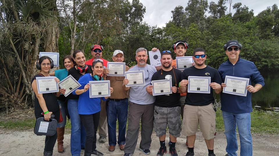 BASIC Pistol Course Graduation